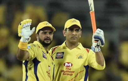 IPL 2020: Suresh Raina reacts after MSDhoni breaks his big record against Sunrisers Hyderabad