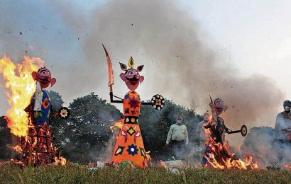 Dussehra a muffled affair in Mohali