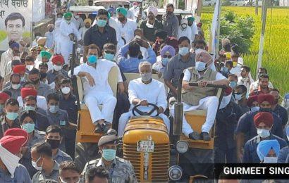 Haryana not to stop Rahul Gandhi's tractor rally