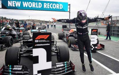 Hamilton wins Portuguese GP, overtakes Schumacher in record 92nd F1 victory