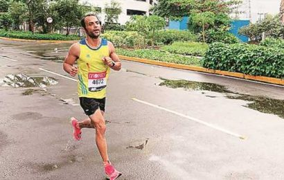 London Marathon marks a virtual first — outside Mumbai apartment