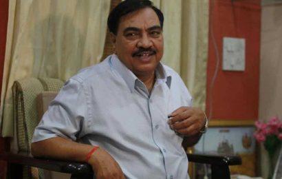 Maharashtra: Eknath Khadse leaves BJP; to join NCP