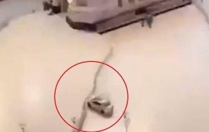 Watch: Saudi man crashes car into gates of Mecca's Grand Mosque