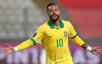 World Cup Qualifers: Neymar hat-trick fires Brazil past Peru, Argentina go joint top