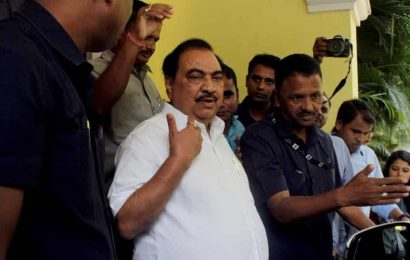 Eknath Khadse, who quit BJP days ago, to join NCP on Friday