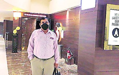 Day one of cinema halls reopening in Chandigarh: A lone viewer who recently recovered from Covid