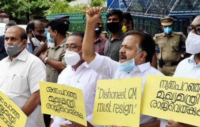 Kerala Opposition leader says CMOinvolved in gold smuggling case