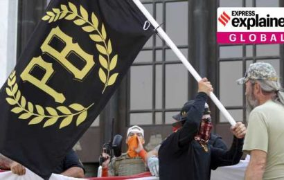 Explained: Who are Proud Boys, the far-right group that Trump mentioned in the presidential debate?