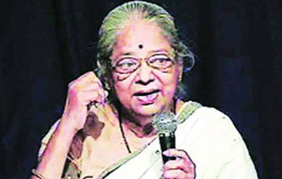 Veteran activist, scholar Pushpa Bhave dies at 81