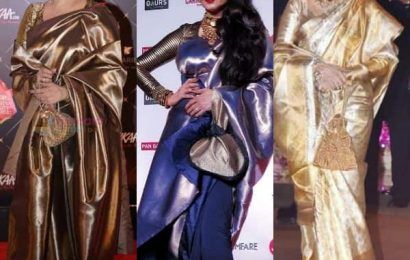 Happy Birthday Rekha: 11 times Bollywood's Umrao Jaan proved that nothing beats six-yards of sheer elegance