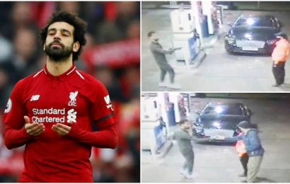 Mohamed Salah becomes a 'real-life hero' after stopping abuse of homeless man