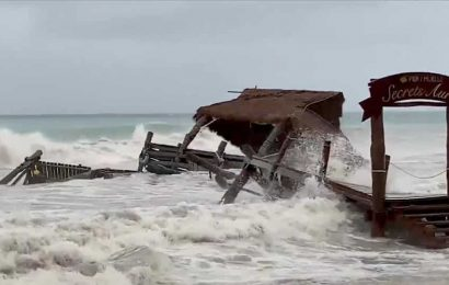 Tropical Storm Gamma leaves 5 dead in southern Mexico