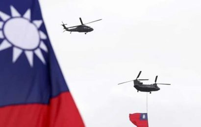 Taiwan says not seeking arms race with China after new US arms sale