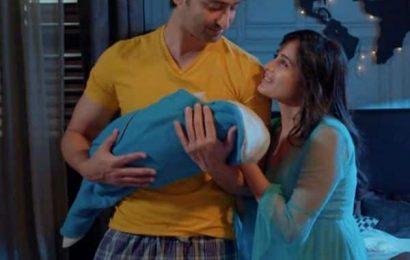 Yeh Rishtey Hain Pyaar Ke: Shaheer Sheikh and Rhea Sharma aka Abir and Mishti are blessed with a baby boy – view pics