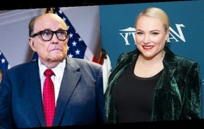 Meghan McCain Trolls Rudy Giuliani After His Hair Dye Drips On His Face During Voter Fraud News Conference