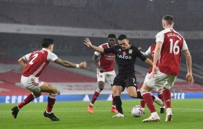 Arsenal stunned by Aston Villa, loses 3-0 in Premier League
