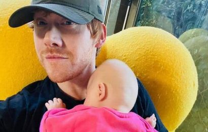 Rupert Grint joins Instagram, reveals his baby's name in first post