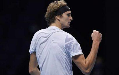 ATP Finals: Zverev rebounds to beat Schwartzman