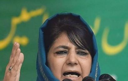 Centre sabotaging participation of non-BJP political parties in DDC polls: Mehbooba Mufti