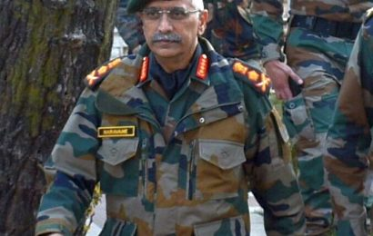 Army Chief Gen MM Naravane arrives in Nepal on crucial visit