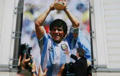 Maradona's 'Hand Of God' shirt could be yours