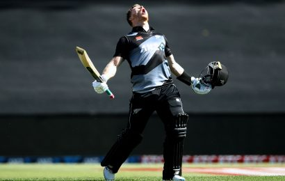 2nd T20I: Phillips's fastest ton helps NZ rout WI