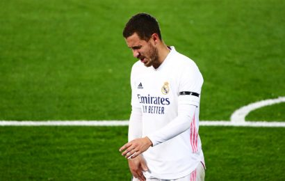 Football Focus: Real Madrid's Hazard sidelined with thigh injury