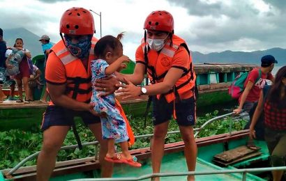 Super Typhoon Goni makes landfall in Philippines as one million evacuate