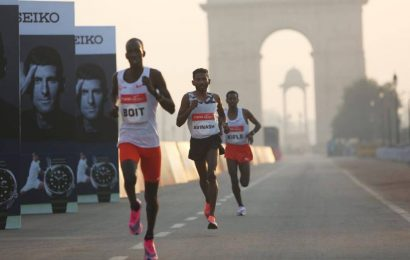 Avinash Sable braves Delhi pollution, breaks half-marathon national mark