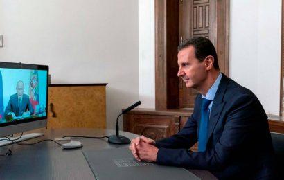 Syria's Assad: Western sanctions hinder return of refugees