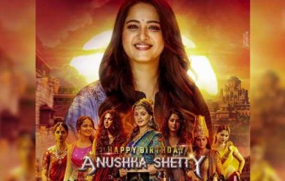 Fans share common display picture of Anushka Shetty on her birthday