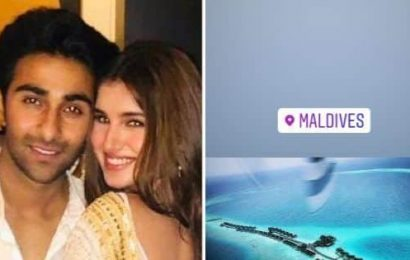 Tara Sutaria and Aadar Jain head off to the Maldives for a getaway; share pics on Insta stories