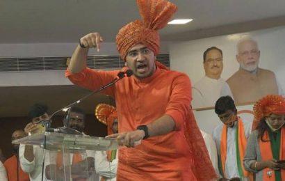 Tejasvi Surya seeks to 'change Hyderabad', triggers Twitter storm