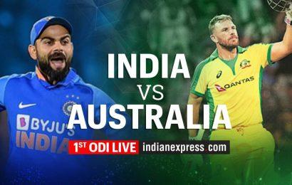 India vs Australia 1st ODI Live Cricket Score Online: India return to international cricket