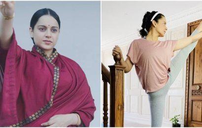 Kangana on gaining 20 kilos for Thalaivi: Left my back severely damaged