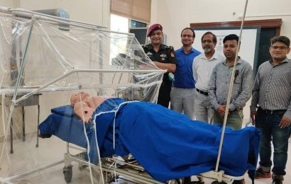 Pune 'Raksha Kawach': AFMC develops patient isolation device