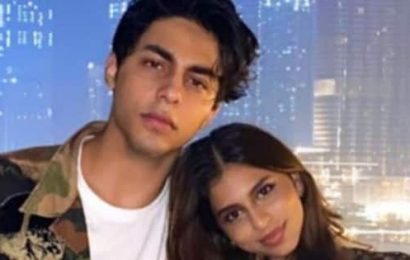 Suhana Khan wishes her brother, Aryan Khan, ahead his birthday; calls him 'bestie' — view pic