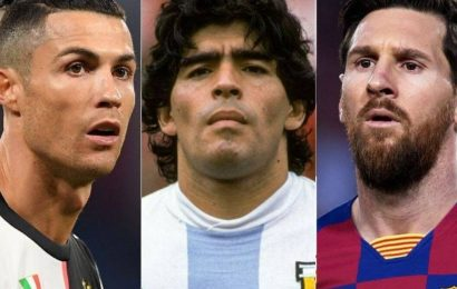 Diego Maradona: 'Unparalleled Magician', says Ronaldo, 'Eternal Great' for Messi
