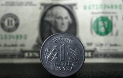 Rupee rises 10 paise against U.S. dollar in early trade