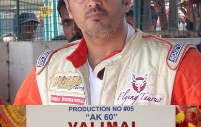 Valimai: Thala Ajith suffers minor injuries while performing a stunt on the sets of his action-thriller