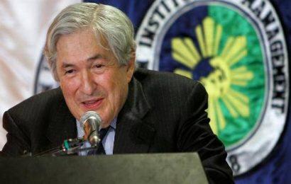 James Wolfensohn, former World Bank president, passes away