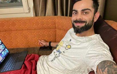 Virat Kohli gets quarantined in Australia, shares photo