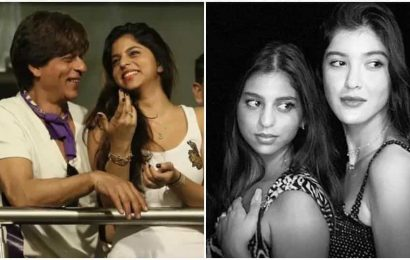 Suhana Khan wishes dad Shah Rukh Khan, best friend Shanaya Kapoor with throwback pic on their birthdays: '55 and 21'