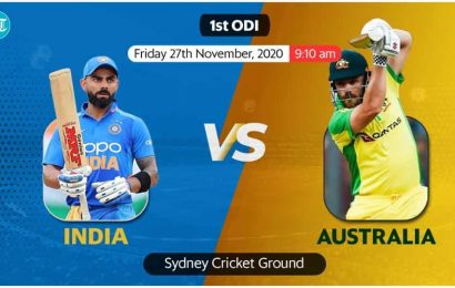 India vs Australia 1st ODI Live Score: Dhawan to get new opening partner as KLRahul set to play in middle-order