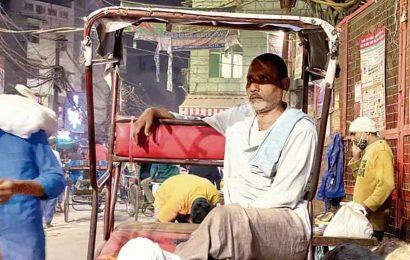 Delhiwale: His bandaged feet