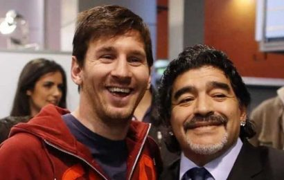 'Diego is eternal': Messi pays tribute to late football legend Maradona
