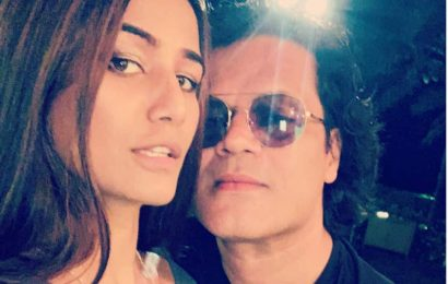 Poonam Pandey shares Karwa Chauth pic with husband Sam Bombay after getting booked for shooting 'obscene video' in Goa