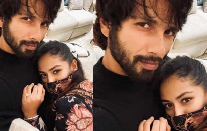 Shahid Kapoor shares the most romantic picture with wife Mira: 'Just what I need on a rainy winter evening'