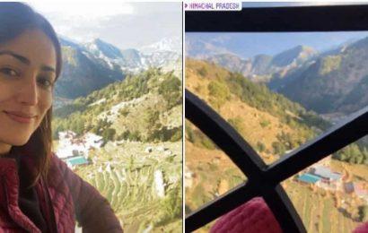 Yami Gautam shares 'no filter' pics from Himachal Pradesh as  Bhoot Police shoot begins
