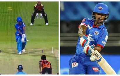 IPL 2020, DC vs SRH: 'He just started walking,' Shimron Hetmyer reacts to Shikhar Dhawan's bizarre dismissal
